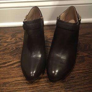 Vince Camuto Coffee Ankle Booties Size 9M